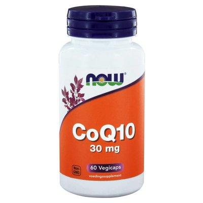 NOW NOW CoQ10 30 mg (60 vegicaps)