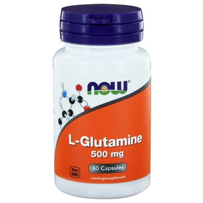 NOW NOW L-Glutamine 500mg (60 caps)