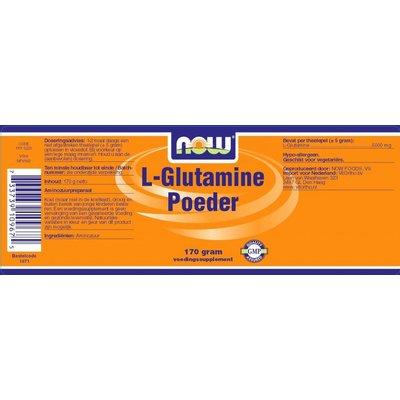 NOW NOW L-Glutamine Poeder 170gram