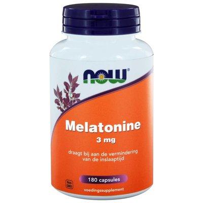 NOW NOW Melatonine 3 mg (180 caps)