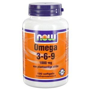 NOW Omega 3-6-9 1000 mg (100 softgels)