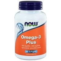 NOW Omega-3 Plus (High EPA / DHA) (60 softgels)