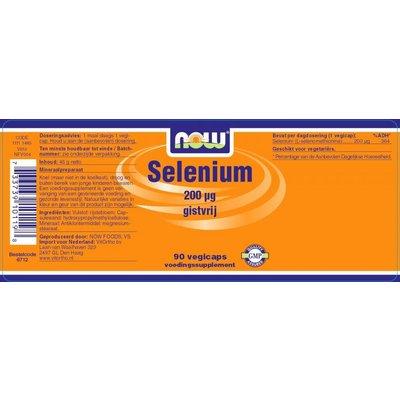 NOW NOW Selenium 200 ug (90 vegicaps)