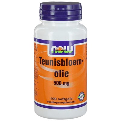 NOW NOW Teunisbloemolie 500 mg (100 softgels)