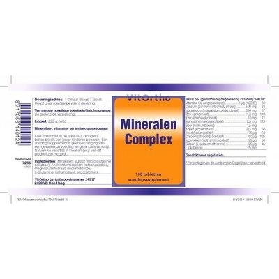 VitOrtho VitOrtho Mineralen complex (100 tabs)