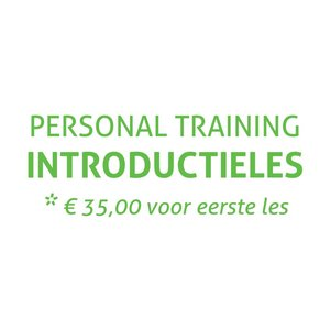 Saint Fit Introductieles Personal Training