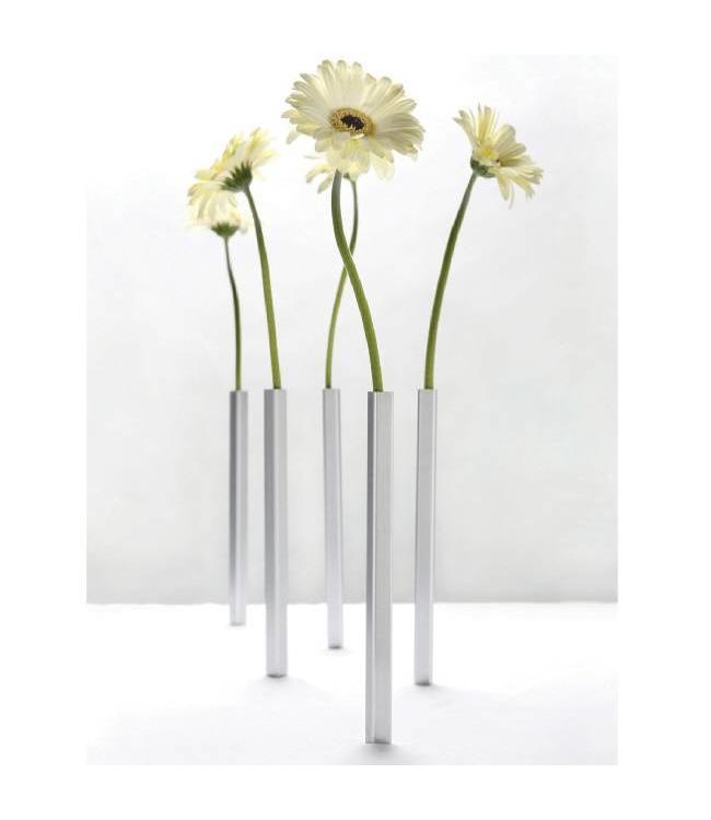 magnetische vaasjes voor een stijlvol gedekte tafel. Black Bedroom Furniture Sets. Home Design Ideas