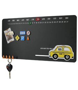 KolorCoolkit Magnetisch notitiebord Yellow Taxi