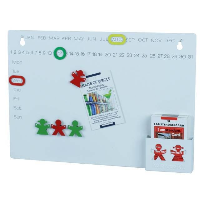 Magnetisch notitiebord Boy & Girl Wit