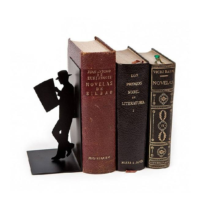 balvi boekensteun lezende man design. Black Bedroom Furniture Sets. Home Design Ideas
