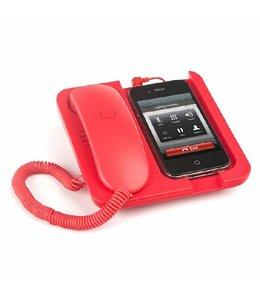 Balvi Rode Mobiele telefoonhouder en speaker Pronto!