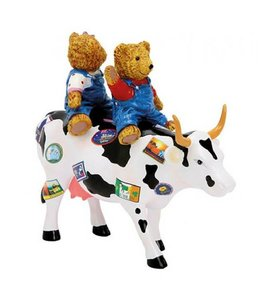 CowParade Cow Parade Teddy bears on the move (medium)