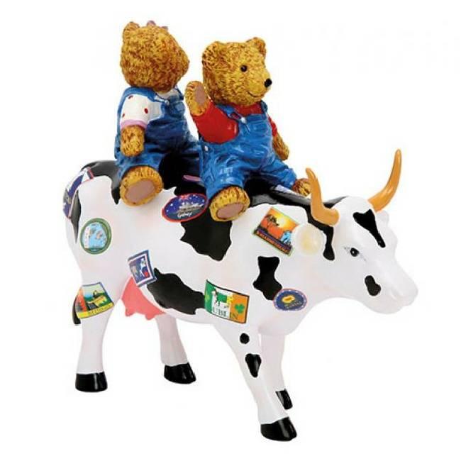 Cow Parade Teddy bears on the move (medium)