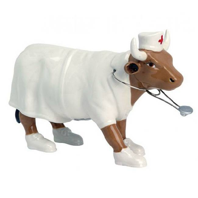 Cow Parade Nurse Nightencow (medium)