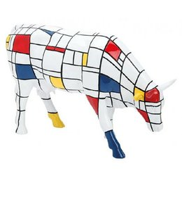 CowParade Cow Parade Moondrian (large)