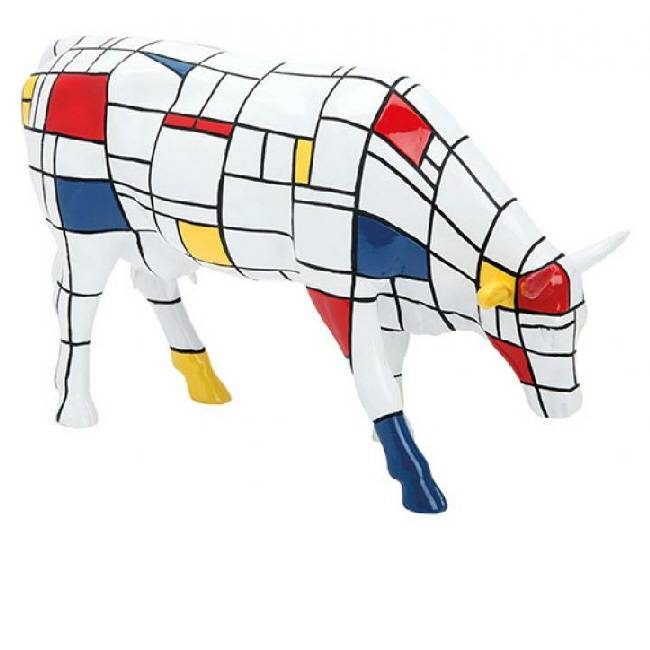 Cow Parade Moondrian (large)