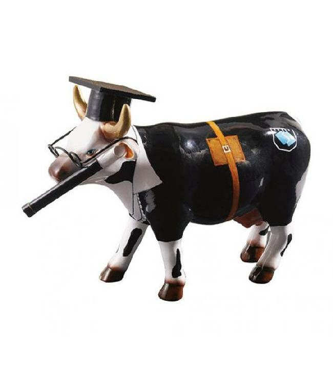 CowParade Cow Parade Cow Doutora (medium keramiek)