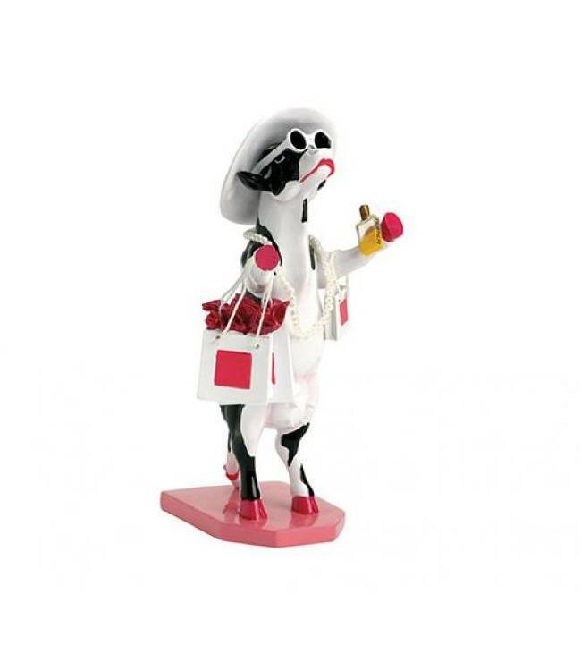 CowParade Cow Parade Alphadite Goddess of shopping (medium)