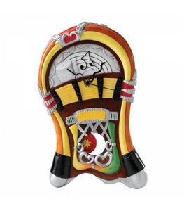 Wandklok Jukebox