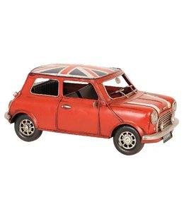 Clayre & Eef Modelauto Britse Mini Cooper