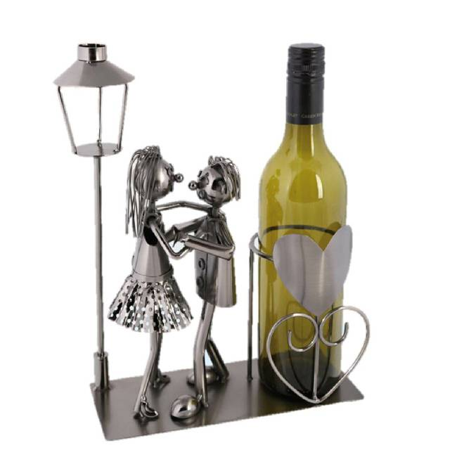 Wijnfleshouder, een bijzonder wijncadeau voor keuken of kamer