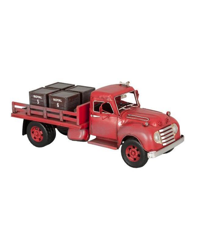 Clayre & Eef Model Retro Vrachtwagen