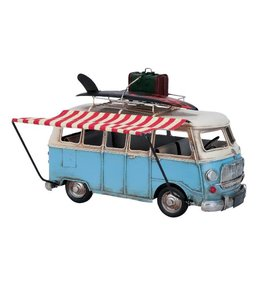 Model Retro Volkswagen Kampeer Bus