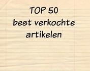 TOP 50 - best verkochte artikelen