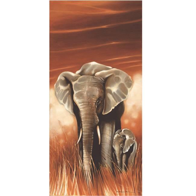 Kunstzinnige Ingelijste Posters: Afrikaanse Olifant