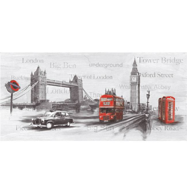 Kunstzinnige Ingelijste Posters: London Highlights