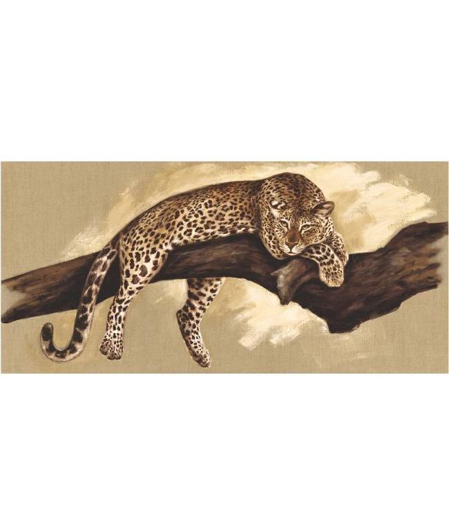 Kunstzinnige Ingelijste Posters: Jaguar in de boom