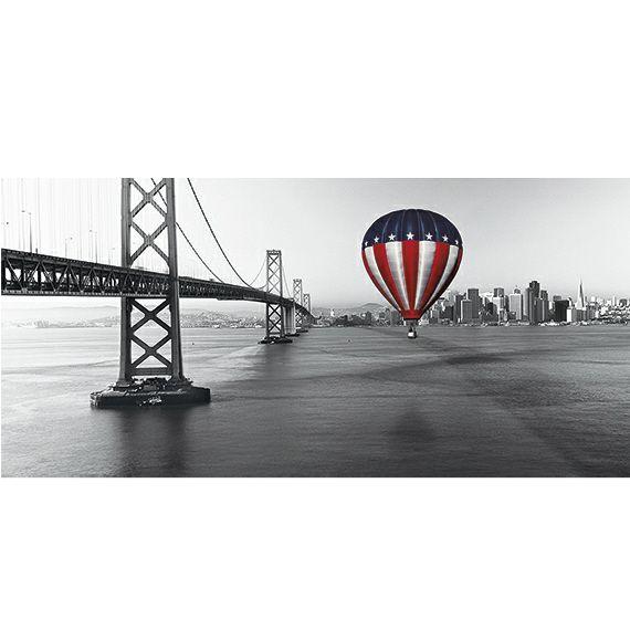 Kunstzinnige Ingelijste Posters: Luchtballon in USA