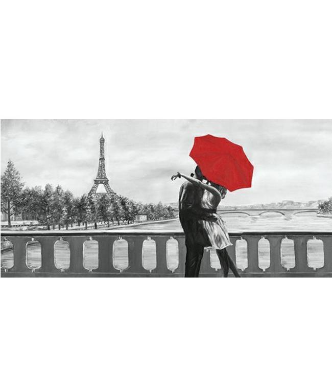 Kunstzinnige Ingelijste Posters: Romantiek in Parijs