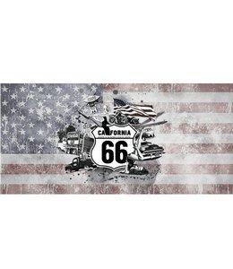 Ingelijste Posters: Route 66 California