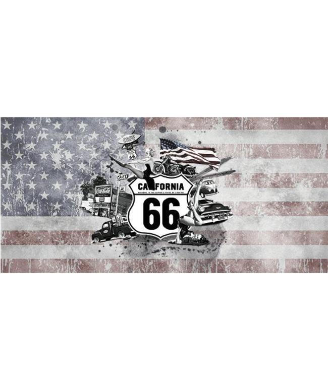 Kunstzinnige Ingelijste Posters: Route 66 California