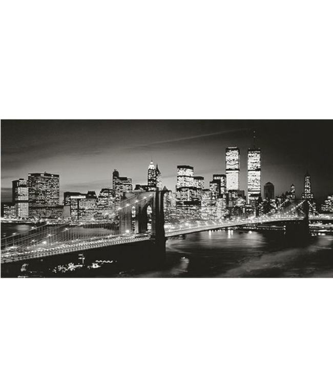 Kunstzinnige Ingelijste Posters: New York by Night