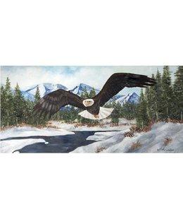 Ingelijste Posters: Vliegende Amerikaanse Arend