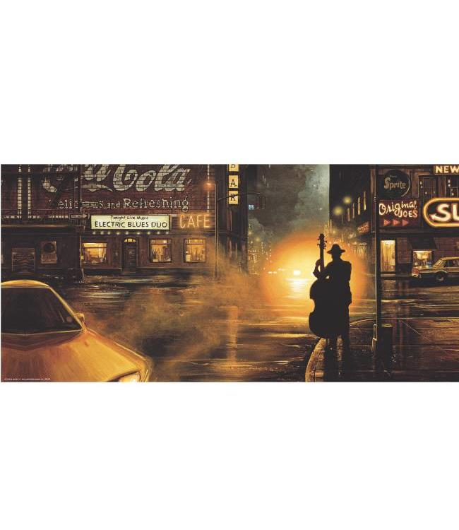 Kunstzinnige Ingelijste Posters: American Blues