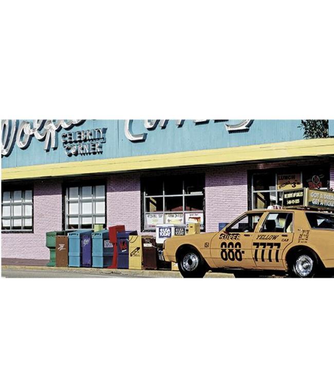 Kunstzinnige Ingelijste Posters: Super Yellow Cab
