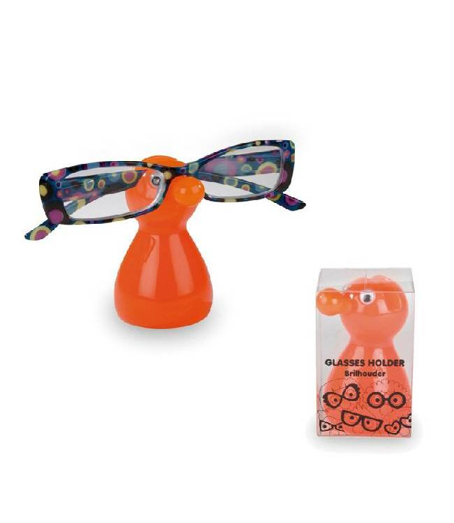 Brillenhouder Mannetje Oranje