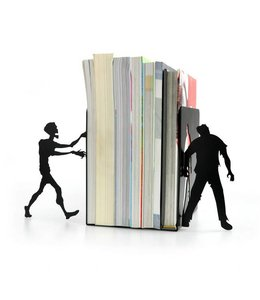 Boekensteun set Zombie