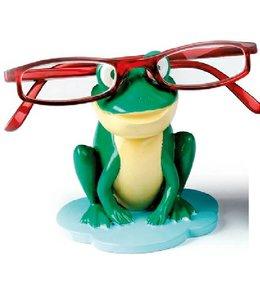 Kinder Brillenhouder Kikker Groen - Lichtgeel