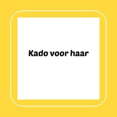 Kado voor haar