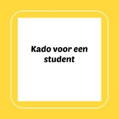 Kado voor een student