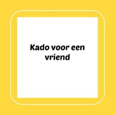 Kado voor een vriend