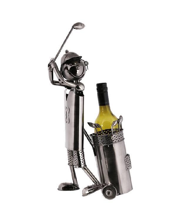 Wijnfleshouder Golfer
