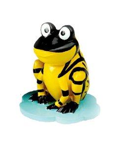 Kinder Brillenhouder Kikker Zwart - Geel