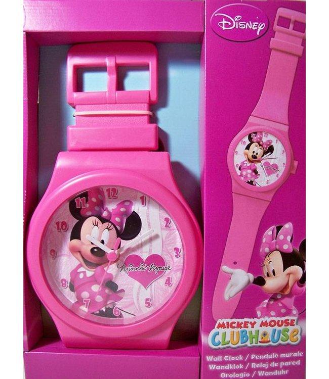 Horlogeklok Minnie Mouse