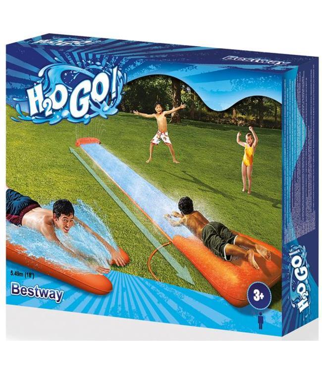 H2O Go Enkele glijbaan 5.49 meter (vanaf 3 jr.)