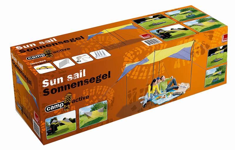 Zonnescherm 6-hoekig (4,5x4,5m)